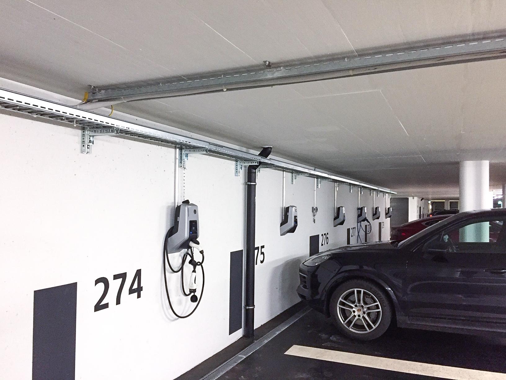 Elektro Compagnoni AG - Anlage Richti Allianz, Wallisellen